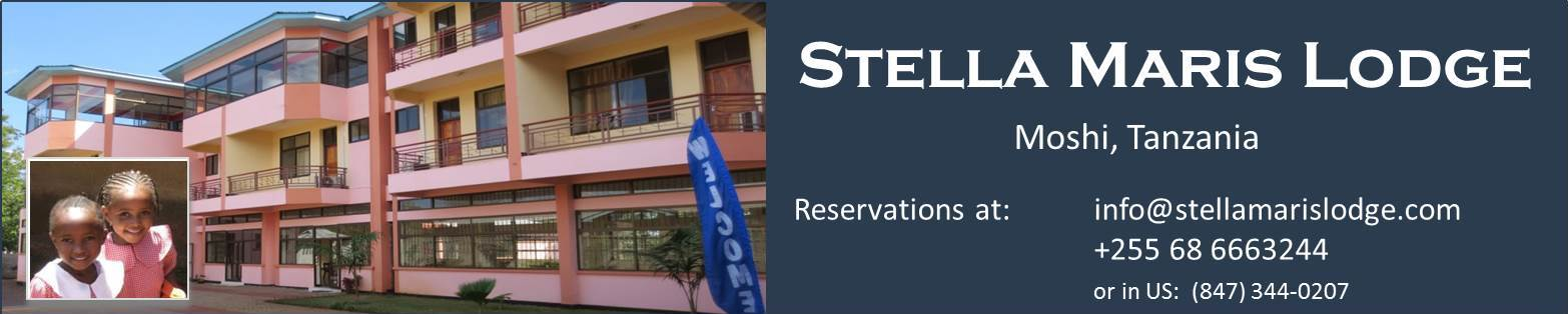 Stella Maris Lodge - a hotel in Moshi